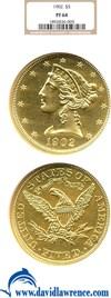 Image of 1902 $5  NGC Proof 64