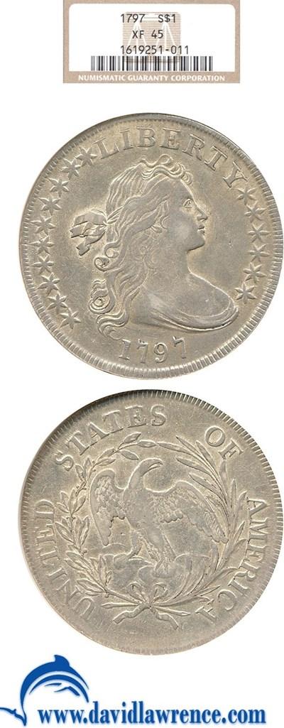 Image of 1797 $1 NGC XF45