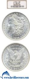 Image of 1892 $1  NGC MS63