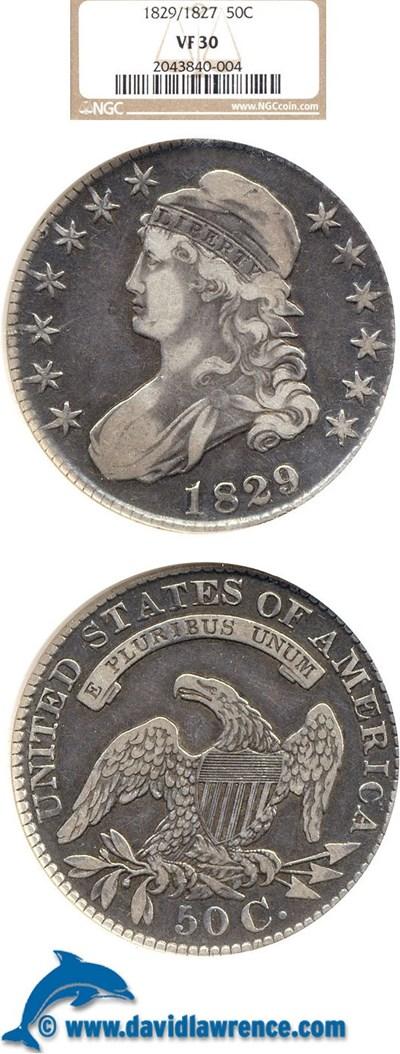 Image of 1829/7 50c  NGC VF30