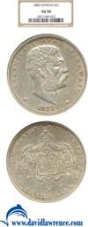Image of 1883 $1 Hawaii NGC AU50