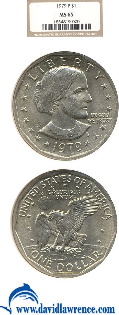 Image of 1979-P SBA$  NGC MS65