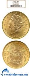 Image of 1895 $20  NGC MS64