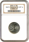 Image of 2000-D 25c South Carolina NGC MS65