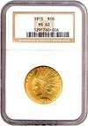 Image of 1913 $10  NGC MS62