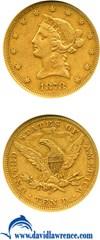 Image of 1878-S $10  NGC XF40