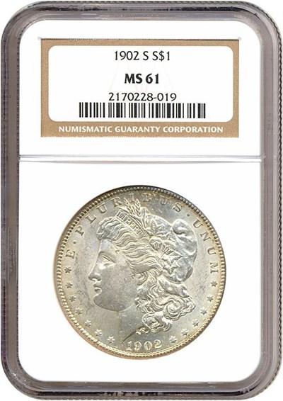 Image of 1902-S $1  NGC MS61