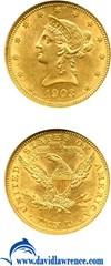 Image of 1903 $10  NGC MS62