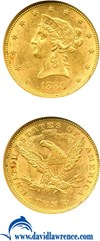 Image of 1880 $10  NGC MS61