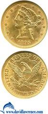 Image of 1895 $5  NGC MS63