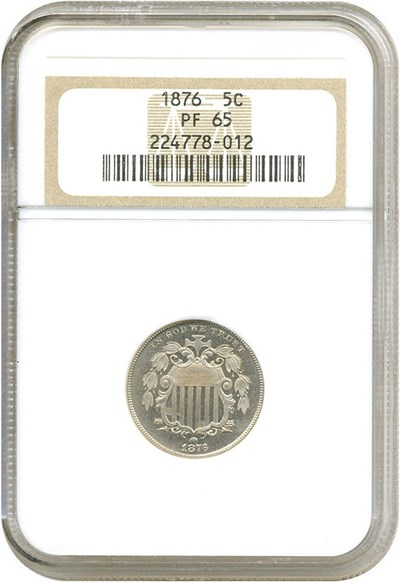 Image of 1876 5c  NGC Proof 65