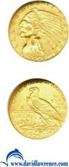Image of 1909 $2 1/2  NGC MS63