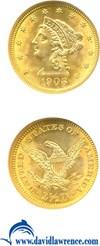 Image of 1906 $2 1/2  NGC MS64