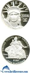Image of 2004-W $50 Platinum Eagle NGC Proof 70 UCameo