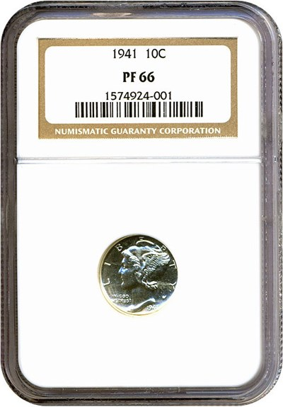 Image of 1941 10c  NGC Proof 66