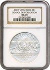 Image of 2007-P $1 Desegregation NGC MS70