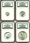 Image of 10c -- $1 Uncirculated Type Set - Binion #2362 of 2500