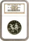 Image of 1996-S 50c Olympic Soccer NGC Proof 69 UCameo