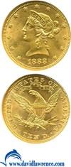 Image of 1888 $10  NGC MS62