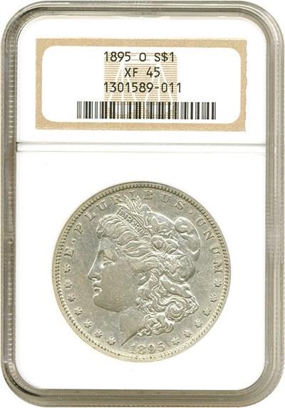 Image of 1895-O $1  NGC XF45