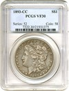 Image of 1893-CC $1  PCGS VF30