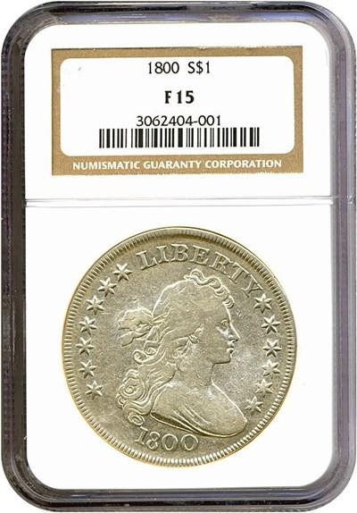 Image of 1800 $1  NGC F15