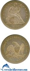 Image of 1843 $1  NGC XF45