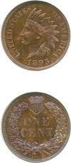Image of 1895 1c  NGC Proof 64 RB *Color*