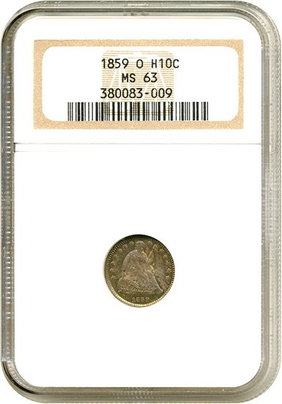 Image of 1859-O H10c  NGC MS63