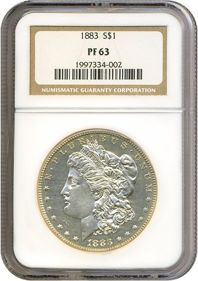 Image of 1883 $1  NGC Proof 63