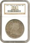 Image of 1797 $1 10x6,Lg.Ltrs. NGC VF30
