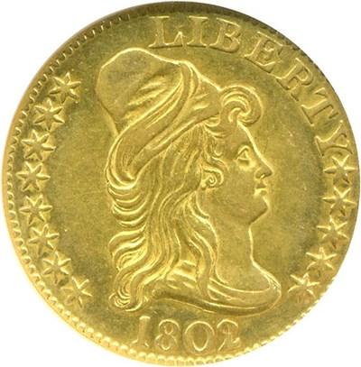 Image of 1802/1 $5  NGC AU58