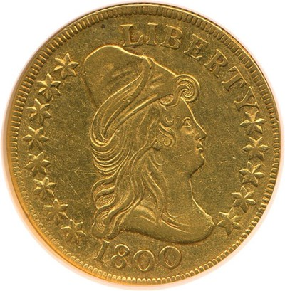 Image of 1800 $10  NGC AU50