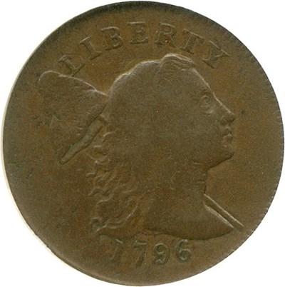 Image of 1796 1c Liberty Cap NGC/CAC F12 (S-81)
