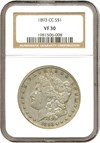 Image of 1893-CC $1  NGC VF30