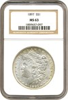 Image of 1897 $1  NGC MS63