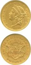Image of 1865 $20  NGC XF45