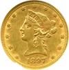 Image of 1897-S $10  NGC AU55