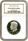 Image of 1979-S 50c Ty.2 NGC Proof 69 UCameo