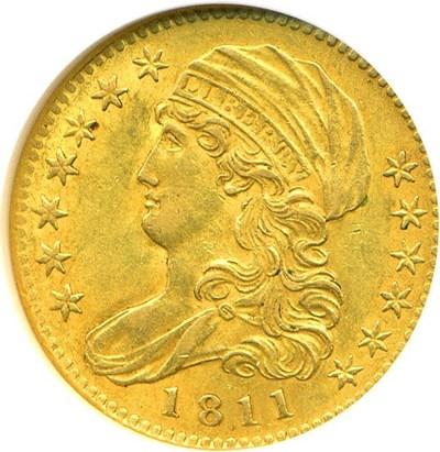 Image of 1811 $5  NGC AU58