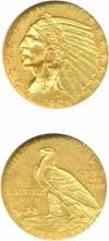 Image of 1909 $5  NGC MS61