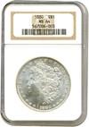 Image of 1880 $1  NGC MS64
