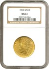 Image of 1916-S $10  NGC MS61
