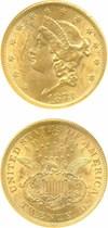 Image of 1873 $20 Open 3 NGC MS60