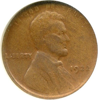 Image of 1922 no D 1c Strong Reverse NGC VF20