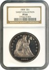 Image of 1864 $1  NGC Proof 66 ex: Sweet Collection