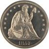 Image of 1857 $1  NGC Proof 64 Cameo