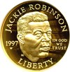 Image of 1997-W $5 Jackie Robinson NGC Proof 69 UCameo