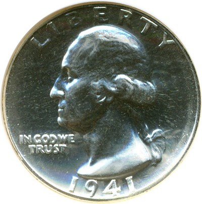 Image of 1941 25c  NGC Proof 66