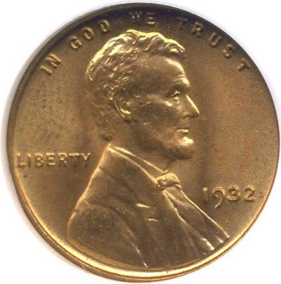 Image of 1932 1c  NGC MS64 RD